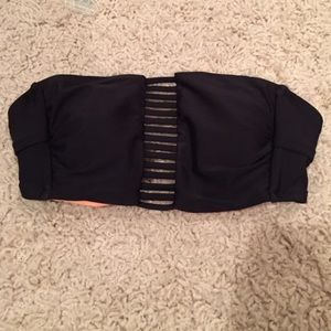 COPY - Strapped Bandeau Swim Top